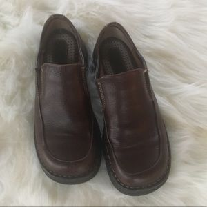 Borne Brown Leather Shoes